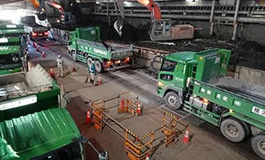 ダンプトラック運送事業